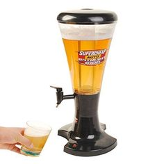 This Kind Of Portable Dispenser Appliance To Serve Any Beverage Such As Beer, Soda, Fruit Juice, Wine, Iced Coffee And Teas.