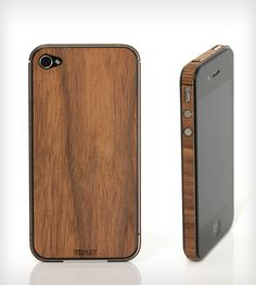 Wood iPhone 4/4S/5 Cover - Love this