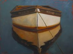 row boat painting..