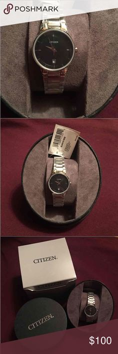 New in Box Citizen watch Brand new. Bought from Kohl's for $140 Citizen Jewelry