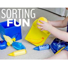 ⭐️SORTING FUN (and a GIVEAWAY!)⭐️ Oh hey Baby Kate, getting your sorting on🎉 Look at that little lady (18 months) go👀 I am loving my time as a  @lakeshorelearning ambassador and so excited to share with you what Kate and I have been working on this month: sorting 🔅Sorting is such an amazing skill for toddlers to learn and even toddlers as young as Kate can get in on the action‼️We've been using a few different toys from Lakeshore that are perfect for sorting fun and Kate is in love with…