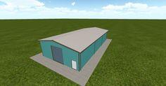 3D #architecture via @themuellerinc http://ift.tt/2u5XzDk #barn #workshop #greenhouse #garage #DIY