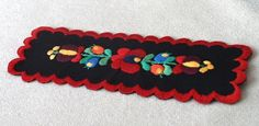 Embroidered bookmark (Hungary)