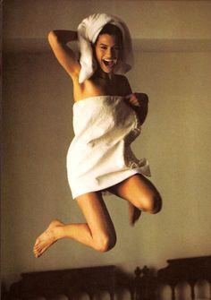 """American Style!"", Vogue US, February 1989 Model : Carre Otis"