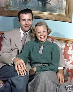 JUNE ALLYSON & DICK POWELL RARE 20x24 FROM TRANSPARENCY