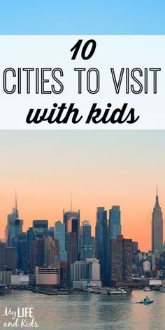 Looking to travel with kids? Full of energy and packed with things to do, cities can be a great family getaway. Check out our list of ten U. cities to visit with kids and highlights from each - and start planning your next trip! Family Getaways, Family Vacation Destinations, Vacation Trips, Dream Vacations, Travel Destinations, Vacation Ideas, Cruise Vacation, Mexico Vacation, Family Trips