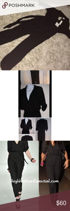 Kardashians for Bebe jumpsuit Never worn size medium jumpsuit from Bebe's kardashians collection. 95% Polyester 5% spandex. New with tags !  Feel free to make an offer! No trades! Kardashian Kollection Pants Jumpsuits & Rompers