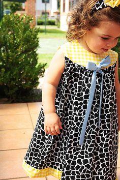 Cute DIY dress, idea for an M project.
