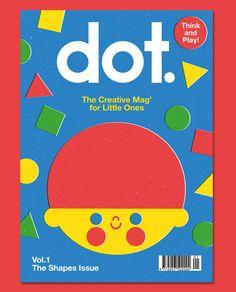 DOT Magazine Vol 1. Illustrated by Anorak magazine's chief designer Anna Dunn.