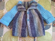 knit for bliss - Pattern is knitted sideways.