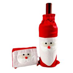 """Like and Share if you want this  Santa Claus Wine Bottle Cover Bag     Tag a friend who would love this!     FREE Shipping Worldwide.     SAVE Big! Enjoy additional 10% OFF on every purchase for all items! Use the promo code """"XMAS17"""" upon checkout.     Buy one here---> http://hisandhertrove.com/santa-claus-wine-bottle-cover-bag/"""