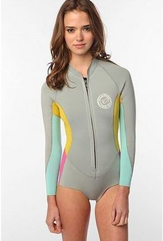 Surfing & Diving 2017 Full Body Color Contrast One-piece Jump Suit Lycra Scuba Diving Skin Hood Bra Pink Blue Yellow Blue Blocking For Women Reliable Performance Rash Guard