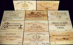 Innovative Wood Wine Crates in Unique Design: Stunning DIY Wood Wine Crates Ideas Tops As Tile Design Ideas