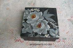 Caixa Rosas Negra - R$ 15,00 Cod. PCX 198