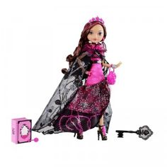 Legacy Day Briar Beauty Doll - Shop Ever After High Fashion Dolls, Playsets & Toys Cerise Hood, High Fashion, Fashion Beauty, Ever After Dolls, Ever After High Toys, Bratz, Raven Queen, Rose Print Dress, Mattel