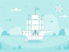 "Illustration | ""Anchors Away"""