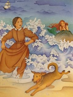 I started early, took my dog, And visited the sea - The mermaids in the basement Came out to look at me… (From Emily Dickinson/Illustration by Chi Chung)