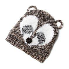 6d6cc634e65 How cute is our Fuzzy Raccoon Knit Beanie!
