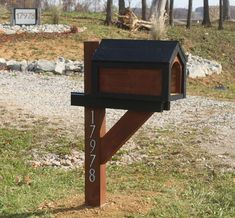 Cool Pallets Mailbox DIY 5