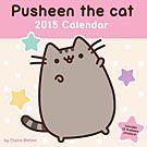 Pusheen the Cat 2015 Wall Calendar: 9781449456054 | Cat Comics | Calendars.com