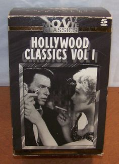 Hollywood Classics Vol 1 - VHS - 5 Tapes Set - Movie Classics Collectors Edition #vintagephilly