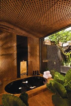 This private Bali villa estate is truly heavenly. In fact, we believe it is the very best Bali luxury villa Spa Design, Spa Interior Design, Design Ideas, Spa Luxe, Luxury Spa, Outdoor Spa, Outdoor Showers, Home Spa Room, Ideas Baños