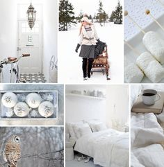 Winter whites