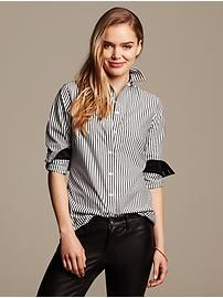 Banana Republic: FW 2014  Fitted Non-Iron Striped Shirt