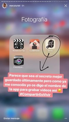 Apps Fotografia, Good Photo Editing Apps, Foto E Video, Photo And Video, Photography Editing, Homescreen, Photo Tips, Photo Editor, Instagram Feed