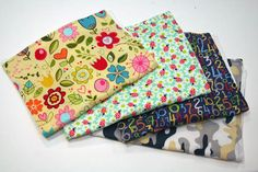 Make your own burp cloths in three easy steps. #DIY #Baby