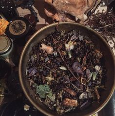 The new Theriomorph Incense, a blend for shapeshifting and skinwalking, was created last full moon, and left to ferment for a whole lunar cycle in sloe gin, a liquor made with the fruits of blackthorn. More info soon.  .  .  .  .  #traditionalwitchcraft...