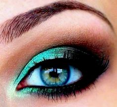 pretty blue and green eyes - Google Search