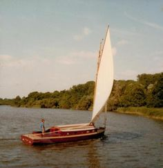 'Lullaby' a member of the Norfolk Heritage Fleet who played 'the Teasel' in the adaptation of Arthur Ransome's books ~ photo: Sophie Neville
