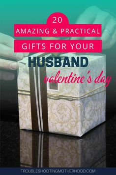 Variety of Valentine's Day gift ideas for your husband. Here is a mix of gifts for the hard to buy for guy who has everything and wants nothing.