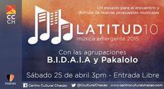 """Cresta Metálica Producciones » B.I.D.A.I.A. y Pakalolo sonarán el 25 de abril en """"LATITUD 10"""""""