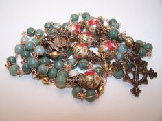 Unbreakable RosaryThe Rosary Of St Joan Of Arc by robertd5198, $285.00
