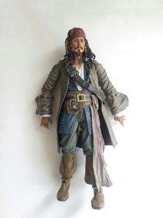 "Pirates of the Caribbean CAPTAIN JACK SPARROW Dead Man's Chest 15"" Figure  