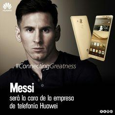 """Marcas - Mercadeo/  EL TERCER FABRICANTE DE SMARTPHONES DEL MUNDO LE GANÓ LA PULSEADA A SAMSUNG QUE YA HABÍA TENIDO AL ÍDOLO DEL BARCELONA ENTRE SUS FILAS  Tras el telón y la presentación con luces y humo, Messi apareció en el escenario que Huawei había preparado en el hotel Carlos I de Barcelona.  El Plan Messi no fue una idea que surgió de un momento a otro en la compañía Huawei. """"La idea de tener a Messi como cara global de la marca fue de la unidad argentina. Ellos la transmitieron a la…"""