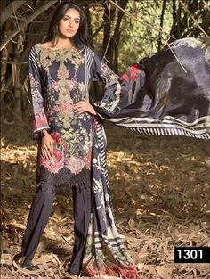 Latest Salwar Suits, Indian Suits, Print Chiffon, Casual Party, Party Wear, Pakistani, Cover Up, How To Wear, Cotton