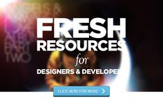 Fresh Resources for Designers and Developers — January 2014