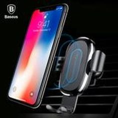 Baseus Wireless Charger Car Holder For iPhone 11 Pro Max USB Wireless Charging For Samsung Note 9 Air Vent Car Mount Holder Iphone Car Holder, Air Vent Phone Holder, Cell Phone Holder, Iphone 8, Coque Iphone, Iphone Cases, Wireless Charging Pad, Gadgets Électroniques, Shopping
