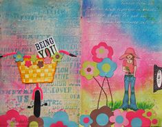 Mixed media pages Mixed Media Journal, Creative, Painting, Art, Art Background, Painting Art, Kunst, Paintings, Performing Arts