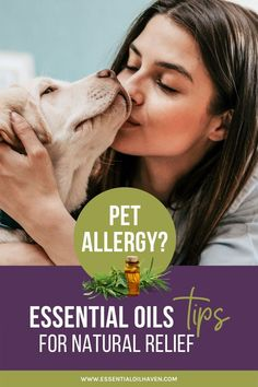 There are quite a few natural solutions to help alleviate symptoms of allergies due to dog and cat dander so dont disappoint just yet. Essential oils can provide relief for your pet allergies whether you live with a pet or not it doesn't matter. Essential Oils Allergies, Essential Oils Guide, Essential Oil Uses, Natural Allergy Relief, Cat Allergy Relief, Easential Oils, Essential Oil Combinations, Cat Allergies, Essential Oil Diffuser Blends