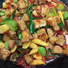 Image may contain: food Asian Recipes, Healthy Recipes, Ethnic Recipes, Indonesian Cuisine, Indonesian Recipes, Malay Food, Spicy Dishes, Malaysian Food, Vegetarian Options