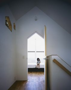 "House in Fukai by Horibe Associates ""Location: Sakai, Osaka Prefecture, Japan"" 2013"