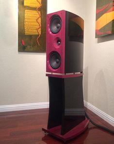 JWM Acoustics - Alyson AML II #zvucnici #loudspeakers Floor Speakers, Home Speakers, Professional Audio, Speaker Stands, High End Audio, Loudspeaker, Audio Equipment, Acoustic, Channel