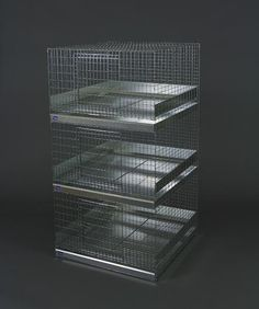 Stackers - 3-Hole Rabbit Cage Stacker