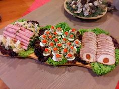 hidegtal Appetizer Recipes, Appetizers, Food Platters, My Best Recipe, Cobb Salad, Sushi, Bacon, I Am Awesome, Good Food