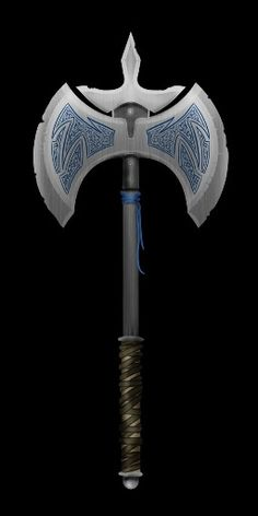 Journey, a magical battle axe claimed by Thorin once the heroes defeated the white dragon from Skyreach Castle, this axe was in its horde