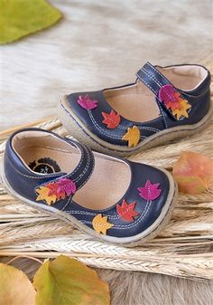 Livie and Luca Shoes - Maple Shoes in Navy